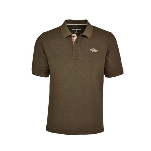 118009-013//675 Blaser Polo Shirt Mud