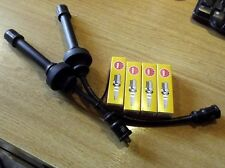 HT ignition leads & spark plugs Mitsubishi Pajero Junior 1.1 Jr, 8mm plug wires