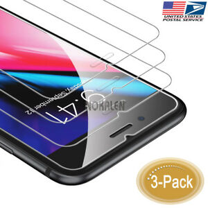 3-Pack-9H-Hardness-2-5D-Tempered-Glass-Screen-Protector-for-iPhone-8-Plus-7-Plus