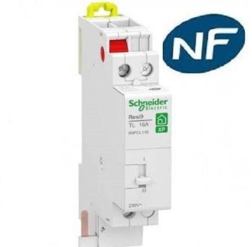 16A resi9 Télérupteur 1no xp Schneider R9PCL116