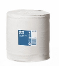 1 x Tork M2 Advanced Centrefeed Wiper 420 WHITE  Combi Disposable Towel Roll
