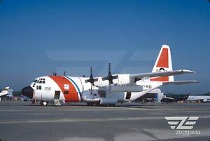 Original-slide-1716-Lockheed-HC-130H-Hercules-U-S-Coast-Guard-1987