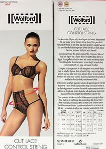 f80a10e305 WOLFORD Cut Lace Control String Color  capri nude Size  Small 69551 ...