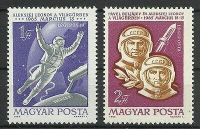 Europa Ungarn/ Raumfahrt Minr 2120/21 A ** Volumen Groß Briefmarken