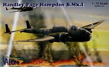 Valom 1/72 Model Kit 72033 Handley-Page Hampden B. Mk.I