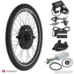 1000W-Bicyclette-Electrique-Conversion-Arriere-Roue-Vitesse-Moyeu-Moteur-LCD