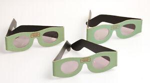 3-Stuck-Zeiss-Ikon-1500-Polarisationsbrillen-3D-Brillen-aus-den-50er-Jahren