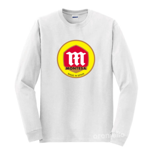 Montesa T-Shirt White Long Sleeve S-5XL
