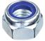 M30 DIN985 Sechskantmutter Polyamidklemmteil Edelstahl A2//A4 M18