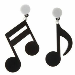 Fashion-Elegant-Women-Note-acrylic-Earrings-Stud-Drop-Dangle-Earring