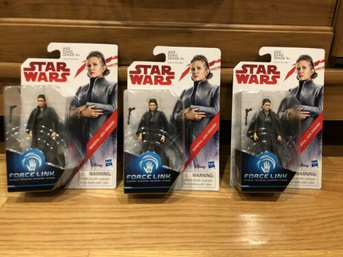 Star Wars Collectible Action Figure General Leia Organa Force Link