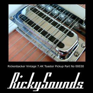 Rickenbacker-7-4-K-Grille-pain-Pickup-pour-Guitare-Son-le-nouveau-annees-60