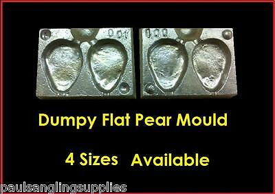 100 x BRASS LOOPS 3 4 5 6 7oz MOULD WRECK BOAT COD SEA FISHING DCA LEAD WEIGHT