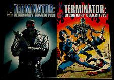 TERMINATOR: SECONDARY OBJECTIVE # 1-4  Dark Horse Comics -1991 (vf)