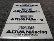 JDM Brand New 4pc Sticker Decals 17-19 inch Rims Wheels Advan Racing RZ-DF RZDF