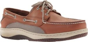 Sperry Top-Sider Billfish 3-Eye Boat Shoes (Men's) in Dark Tan - NEW