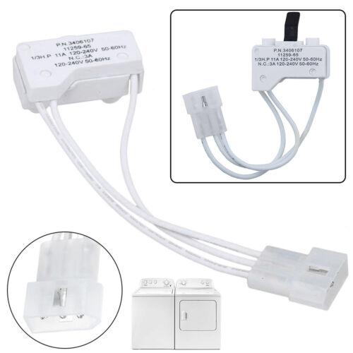 Dryer Door Switch Replacement Fits Whirlpool WP3406107 Kenmore AP6008561 3406107
