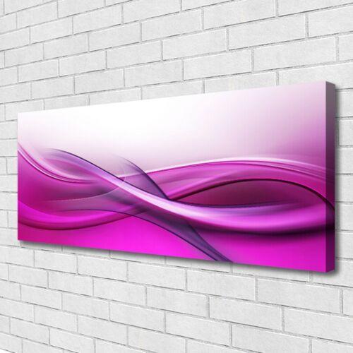Tulup Leinwand-Bilder Wandbild Canvas Kunstdruck 125x50 Abstraktes Kunst