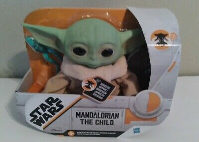 Star Wars The Child Talking Plush Toy with Character Sounds and Accessories The Mandalorian Toy for Kids Ages 3 and Up
