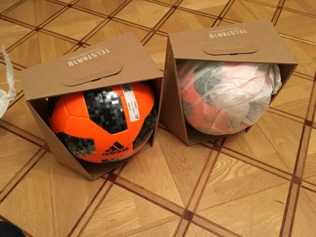 Adidas Telstar winter official match ball with box 2018 OMB ,size 5, CE8084 FIFA