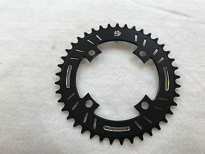 43t Blue Snap BMX Products S4 104mm 4 bolt Chainring