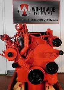 2008-Cummins-ISM-DPF-Diesel-Engine-330HP-Approx-343K-Miles-All-Complete