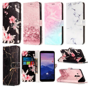 For-Huawei-Mate-9-10-pro-Nova-2i-Coloful-Wallet-Flip-PU-Leather-Stand-Case-Cover