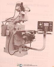 Hurco SM1 CNC, Three Axis Milling Machine, Owner Operators Manual 1985