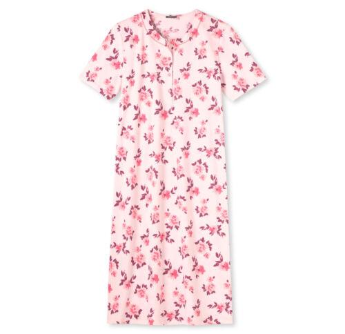 Schiesser Damen Sleepshirt  Nachthemd 1//2 Arm rosé 110 cm