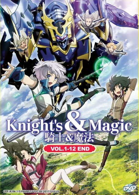 buy popular 75362 2ddae DVD Anime Knight's & Magic Complete Series (1-12 End) English Dub All Region