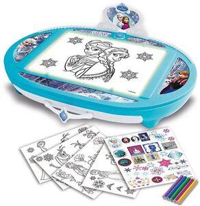 Frozen-Projecteur-Ardoise-Retro-eclaire-Allume-et-Attire-Jeux-Educatifs-Enfants