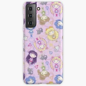 Sailor Soldiers Phone Case For Samsung Galaxy S 8 9 10 20 21 Plus Sailormoon