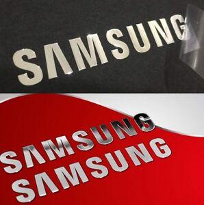 Details about Samsung Sticker Silver OR Gold 4 TV Laptop Ipad Mobile PC  Desktop Notebook DVD