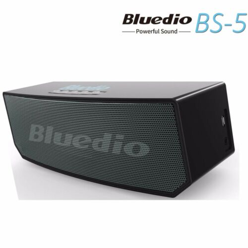 Bluedio BS-5 Bluetooth Stereo 3D Sound Effect Wireless Mini Speakers Subwoofer