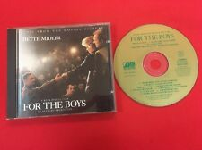 BETTE MIDLER FOR THE BOYS MUSIC FROM MOTION PICTURE 7567-82329-2 ÉTAT CORRECT CD