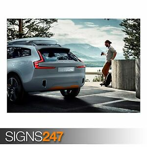 Details About Volvo Concept Xc Coupe Ab355 Car Poster Photo Poster Print Art All Sizes