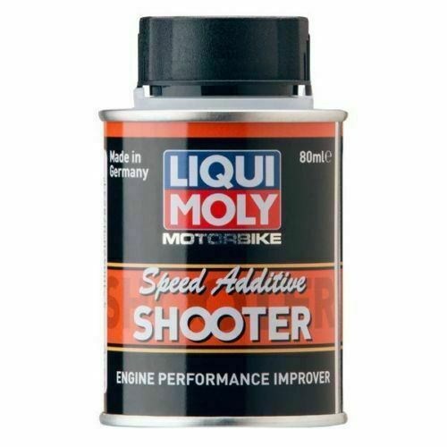 LIQUI MOLY Motorbike 4T Additive Shooter Fuel - 80ml