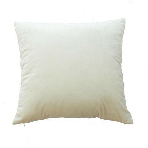 Kissenbezug Kissenbezug Weiße Farbe Wohnkultur 45 x 45 cm