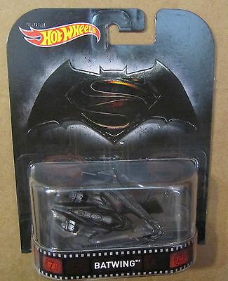 HOT WHEELS RETRO ENTERTAINMENT BATMAN VS SUPERMAN BATWING /&Bat VHTF C Pictures