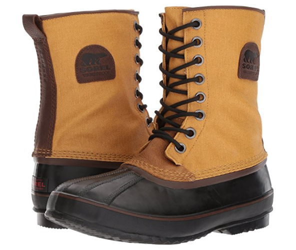 New Sorel Uomo 1964 Premium T Cvs Snow Stivali Banana Sz 7.5  M Rated to -40F