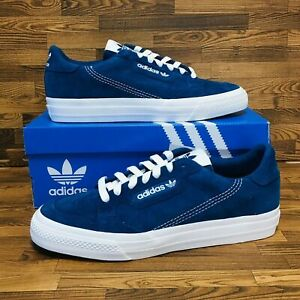 Adidas-Originals-Continental-Vulc-Men-039-s-Sneakers-Legmar-Blue-Shoes-Sz-8-5-or-9-5