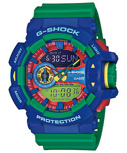 CASIO-GA-400-2A-G-SHOCK-Ana-Digi-Big-Case-Series-LED-Resin-Strap-Green