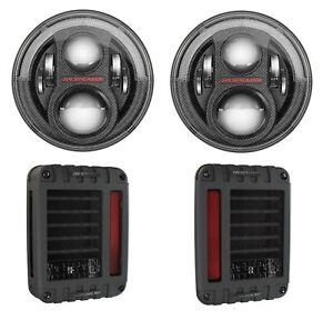 JW-Speaker-Evo-J2-Series-Carbon-Fiber-Headlight-amp-Tail-Light-Kit-JK-Wrangler