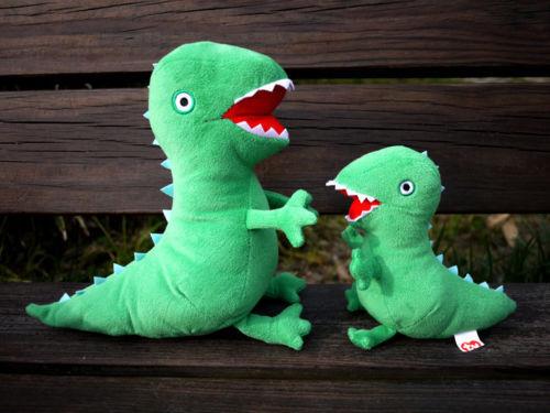 "Peppa Pig George/'s Mr Dinosaur Buddy Plush Stuffed Animal Doll Toy Gift 10/"""