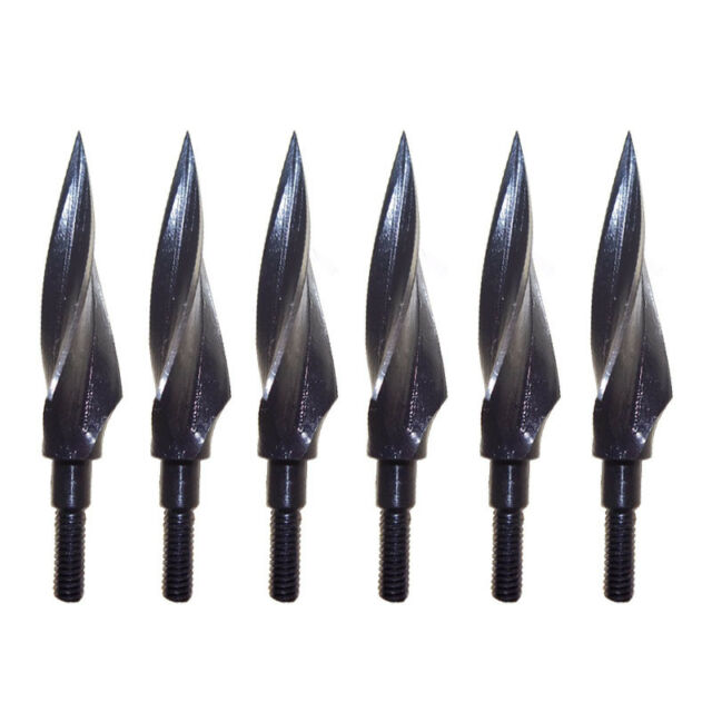 Broadheads 12X Archery Hunting Tips 150 Grain 3 Blade Screw-in Points Outdoor