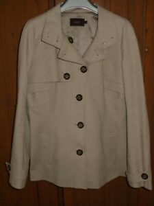 Reiss-Sylvie-Beige-Jacket-Size-Small