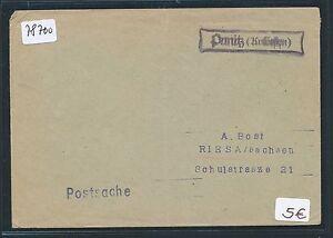 78700-DR-Ostgebiete-Polen-1939-40-Not-Stpl-Brief-Punitz-Kr-Gostyn