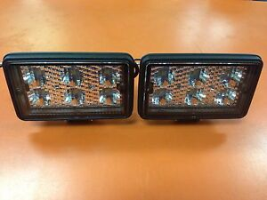 Details About Maxxima Mwl 04 Led Square Work Lights Hd Set Of 2 New Usa