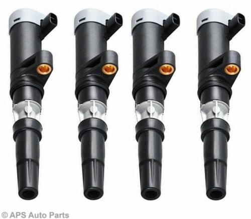 4x Lemark Renault Modus 1.4 1.6 Vel Satis Trafic 2.0 Ignition Pencil Coil New