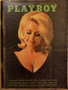 Playboy-September-1965-Very-Good-Condition-Free-Shipping-USA